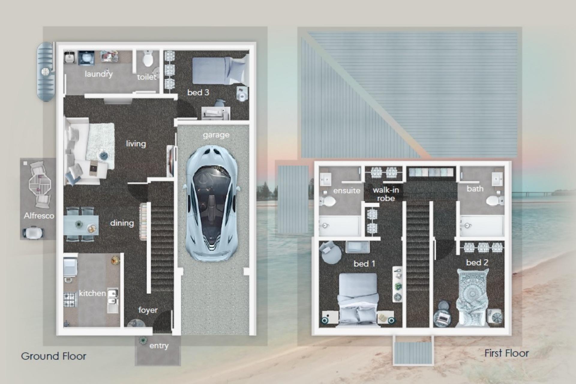 Lakes Manor floor plan